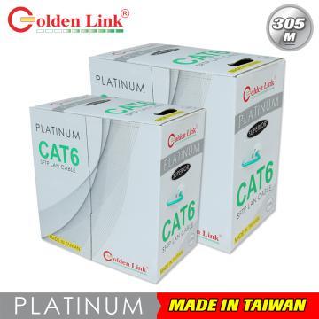 Cáp mạng Golden Link UTP Cat6 Premium 305m (màu xanh lá)