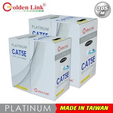 Cáp mạng Golden Link SFTP Cat 5e Premium 305m (màu xanh dương)