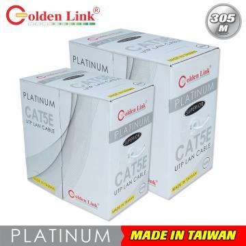 Cáp mạng Golden Link UTP Cat 5e Premium (màu trắng)