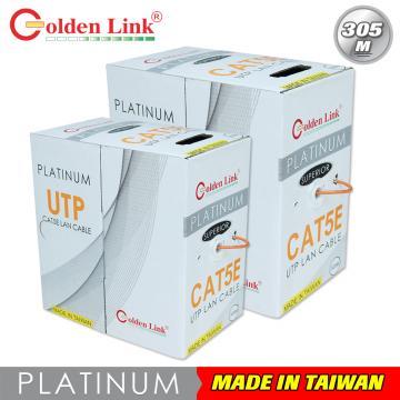 Cáp mạng Golden Link UTP Cat 5e Premium 305M (màu cam)