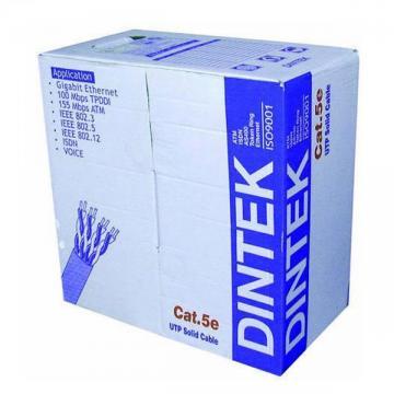Cáp Mạng Dintek CAT5E FTP (Thùng 305m)